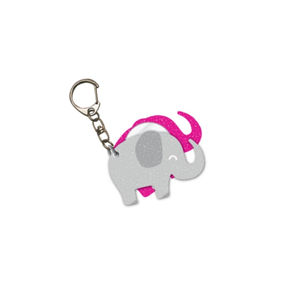 ELEPHANT KEY CHAIN & MIRROR
