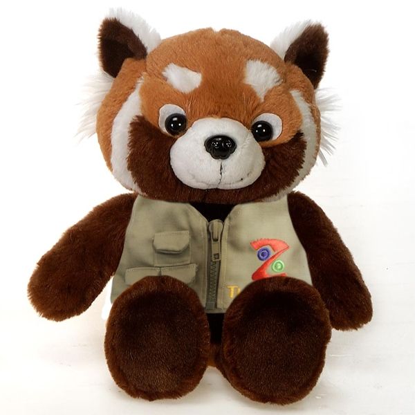 RED PANDA PLUSH WITH TULSA ZOO VEST