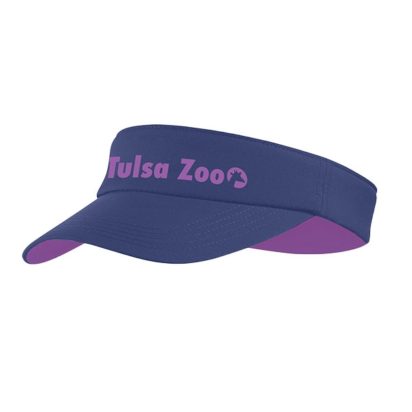 LADIES VISOR PURPLE