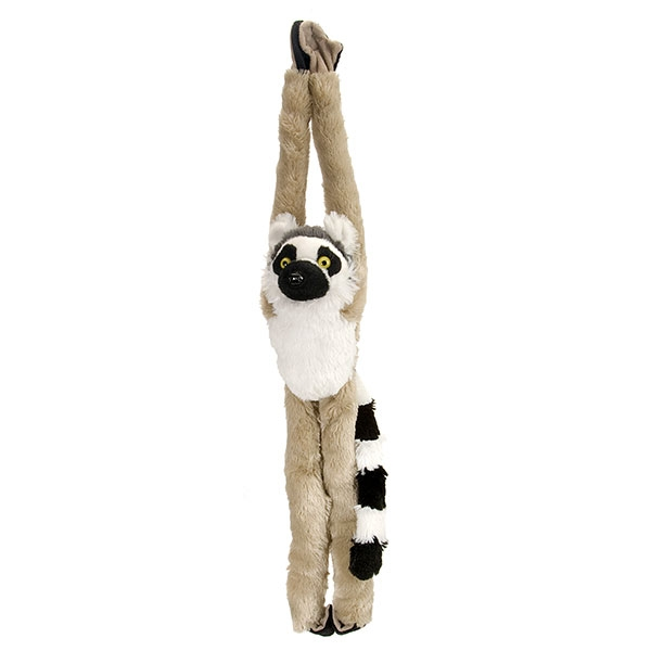 HANGING RING TAIL LEMUR PLUSH