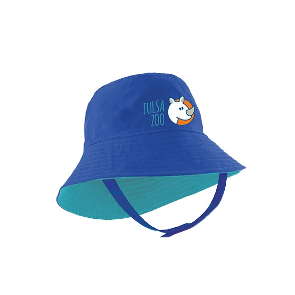 INFANT BUCKET STACK ZOO BLUE