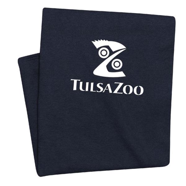 TULSA ZOO LOGO SWEATSHIRT BLANKET